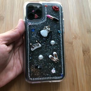 iPhone 11 Pro clear hand make design case